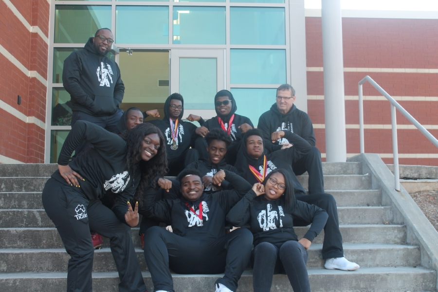 This is the image for the news article titled Wrestlers Qualify for Sectionals
