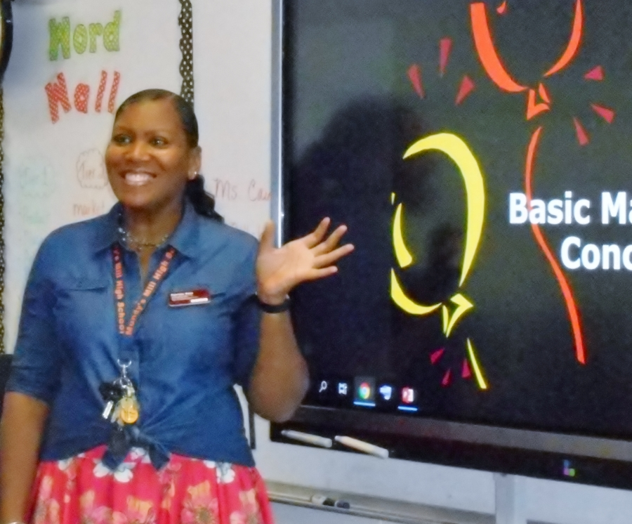 This is the image for the news article titled Teacher of the Year - Patricia Cain