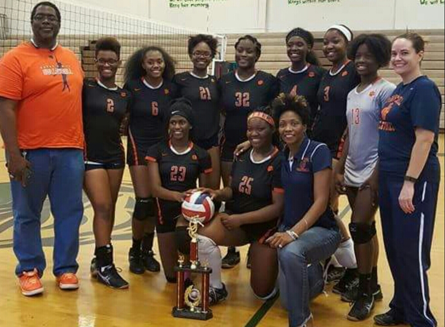 Volleyball 2016 Clayton County Champions