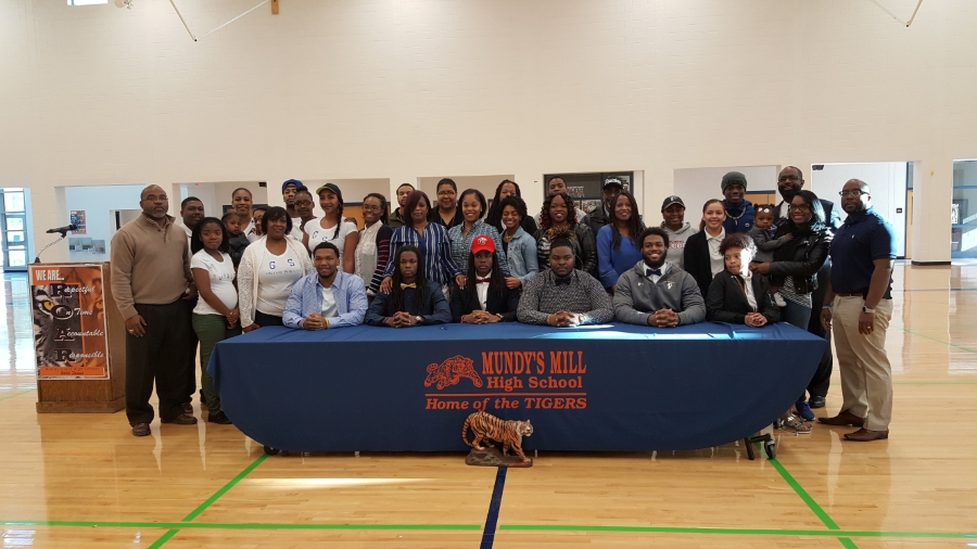 This is the image for the news article titled MMHS Football Signing Day